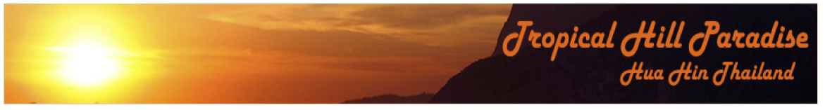Tropical Hill Paradise – Hua Hin Logo